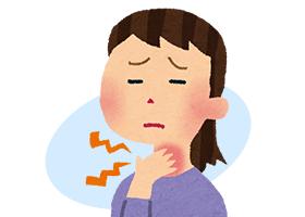 の 違和感 痛み 喉
